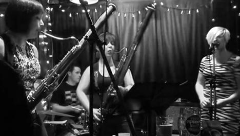 Das Fagott Mannschaft performing live at Relish Bar & Grill
