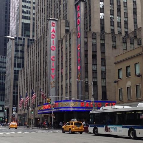 Radio City Music Hall... Our next venue?!?