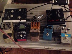 Catherine's pedal explorations