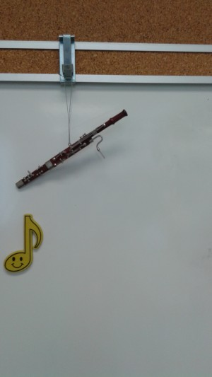 Graham's subliminal bassoon messages to young students.