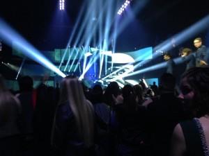 Sweet Deadmau5 light show
