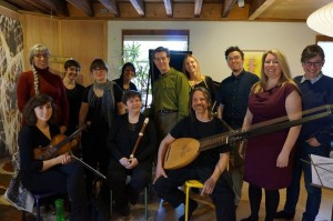 Group shot from Catherine & Spy's last opera workshop